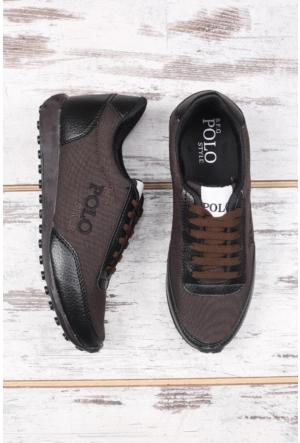 B.F.G Polo Style Kahverengi Spor Ayakkabı