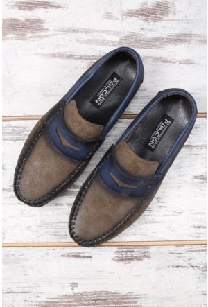 Shoes&Moda Vizon Erkek Ayakkabı