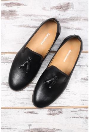 Hernasse Siyah Erkek Ayakkabı