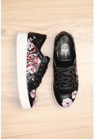 Limited Edition Siyah Bayan Ayakkabı