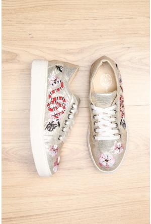 Limited Edition Altın Bayan Ayakkabı