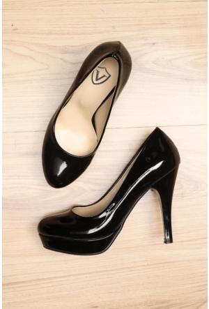 Limited Edition Siyah Bayan 20Mm Platform Ayakkabı