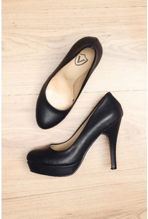 Limited Edition Lacivert Bayan 20Mm Platform Ayakkabı