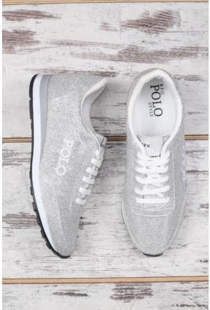 B.F.G Polo Style Gümüş Spor Ayakkabı