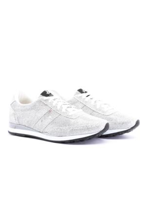Trione Gümüş Bayan Spor Ayakkabı