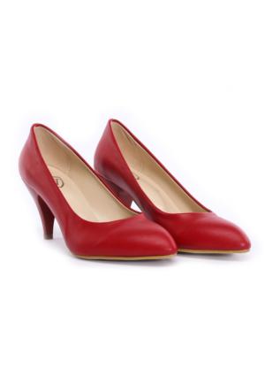 Limited Edition Kırmızı Bayan Stiletto