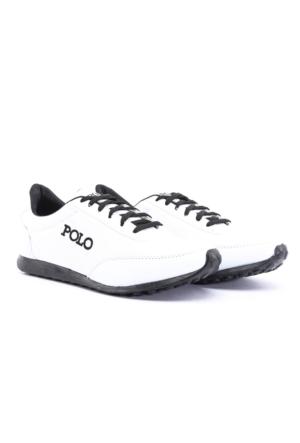 B.F.G Polo Style Beyaz Erkek Spor Ayakkabı