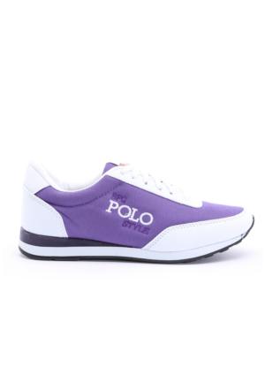 B.F.G Polo Style Mor Spor Ayakkabı