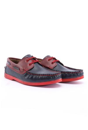 Shoes&Moda Bordo Erkek Ayakkabı