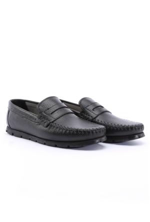 Shoes&Moda Siyah Hakiki Deri Ayakkabı