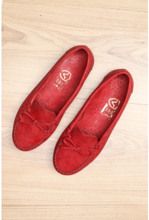 Limited Edition Kırmızı Bayan Babet