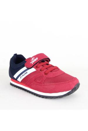 Jump 15733 Erkek Çocuk Spor Ayakkabı Kırmızı 34