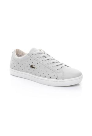 Lacoste Kadın Açık Gri Sneaker Ayakkabı 733CAW1017.334