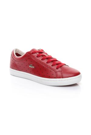 Lacoste Kadın Koyu Kırmızı Sneaker Ayakkabı 733CAW1017.112