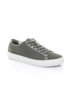 Lacoste L1212 Kadın Haki Sneaker Ayakkabı 733CAW1063.1X5