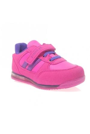 Pinokyo 011-1 Çocuk Spor Ayakkabı Fuşya