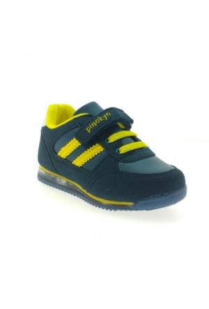 Pinokyo 011-1 Çocuk Spor Ayakkabı Petrol