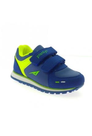 Pinokyo 2152-1 Çocuk Spor Ayakkabı Mavi