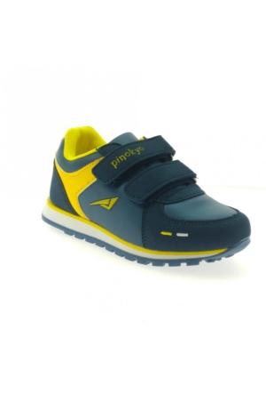 Pinokyo 2152-1 Çocuk Spor Ayakkabı Petrol