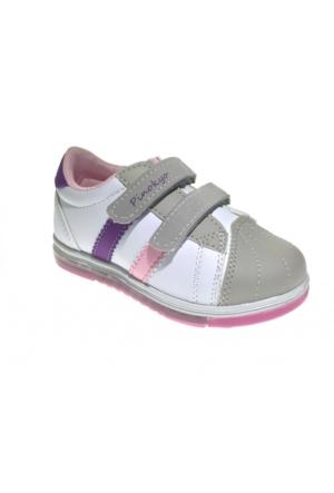 Pinokyo 3026 Bebe Spor Ayakkabı Beyaz