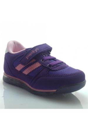 Pinokyo 011 Çocuk Spor Ayakkabı Mor