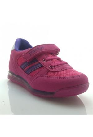 Pinokyo 011 Çocuk Spor Ayakkabı Fuşya