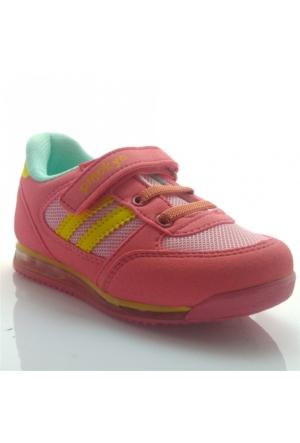 Pinokyo 011 Çocuk Spor Ayakkabı Pudra