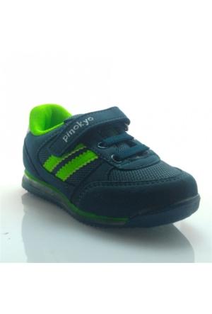 Pinokyo 011 Çocuk Spor Ayakkabı Petrol