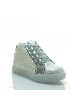Pinokyo 7Y-2033 Çocuk Spor Ayakkabı Gümüş