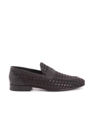 Mocassini Erkek Klasik Ayakkabı Kahverengi 171MCE139 16918