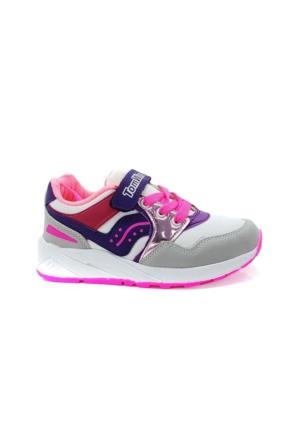 Tomwins 0133 Cırtlı Filet Günlük Yürüyüş Kız Çocuk Spor Ayakkabı