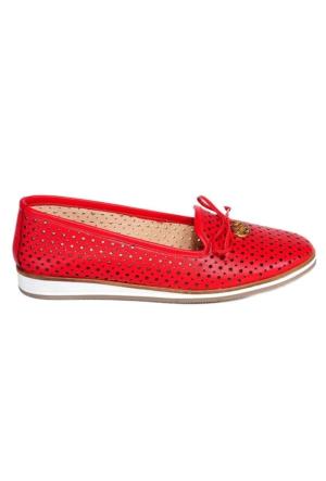 Greyder 50127 Kadın Ayakkabı Kırmızı