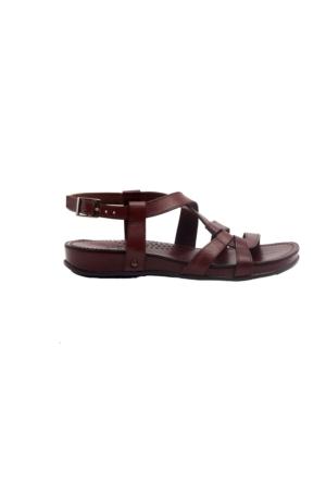 Greyder 55099 Kadın Sandalet Kahverengi