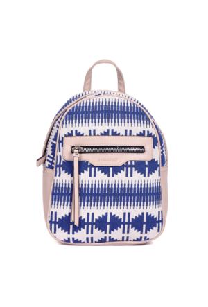 David Jones Kadın Tekstil Sırt Çantası Mavi