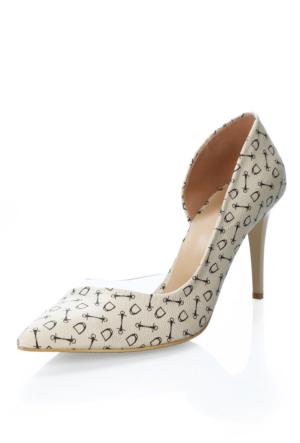 Türker 001 Vizon Şeffaf Ayakkabı
