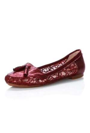 Oflaz 455 Dantellı Ayakkabı