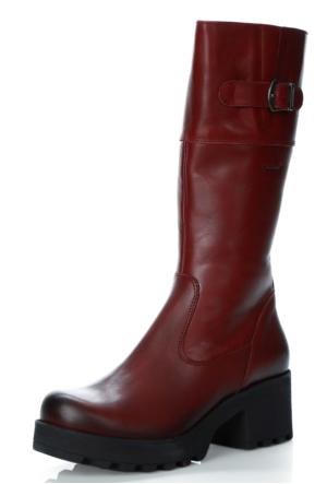 Darkwood 5172-Z Klasik Çizme Bordo Napa Z