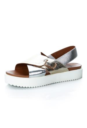 Inuovo 6 6244 Siver-Gold Ayakkabı