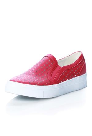 Oflaz 4004 Cilt Fusya Ayakkabı
