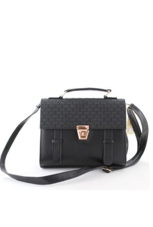 Cantamall 2617 Kadın Postacı Çanta Siyah