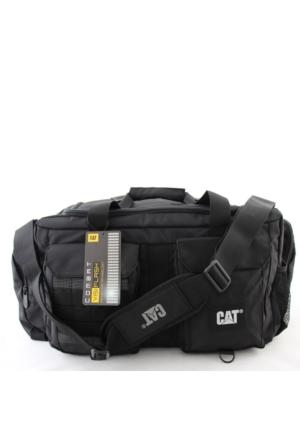 Cat 83396 Caterpillar Erkek Spor Seyahat Çantası Siyah