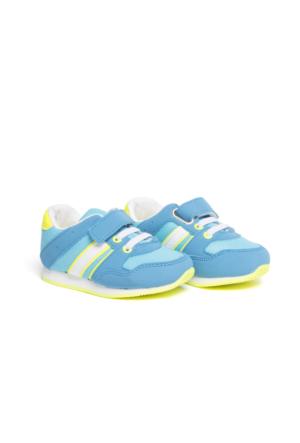 LC Waikiki Bebek Cırt Cırt Detaylı Spor Ayakkabı
