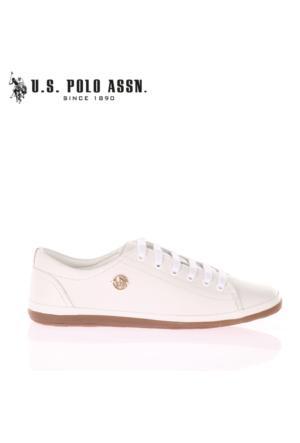 U.S. Polo Assn. Bayan Ayakkabı Jojo Beyaz