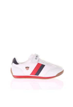 U.S. Polo Assn. Erkek Çocuk Ayakkabı Boni Beyaz
