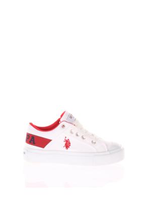 U.S. Polo Assn. Erkek Çocuk Ayakkabı Domingo Beyaz