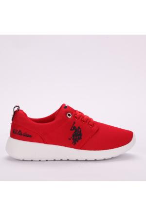 U.S. Polo Assn. Kadın Ayakkabı Honey Kırmızı