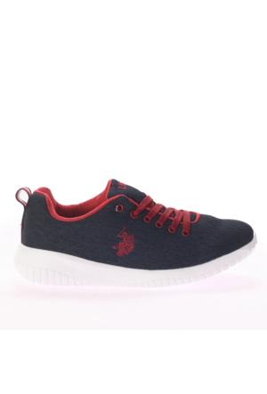 U.S. Polo Assn. Kadın Ayakkabı Santorini Lacivert