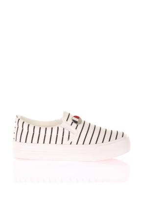 U.S. Polo Assn. Bayan Ayakkabı Mocking Beyaz