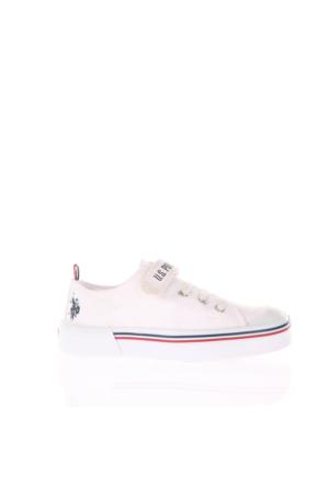 U.S. Polo Assn. Erkek Çocuk Ayakkabı Penelope Beyaz