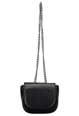 Collezione Kadın Çanta Laten Siyah